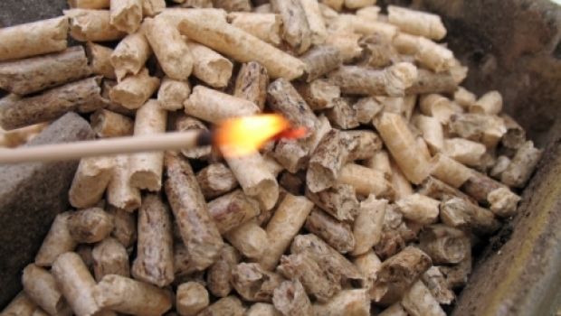 Heating with pellet technology