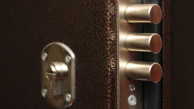 Locks for armored doors
