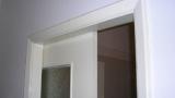 Install a sliding door