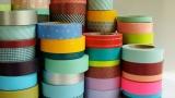 Decorating with washi tape