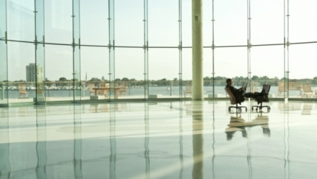 Glass building and sustainability
