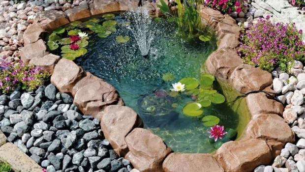 Ornamental garden ponds