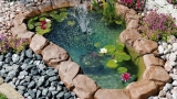 Ornamental garden ponds
