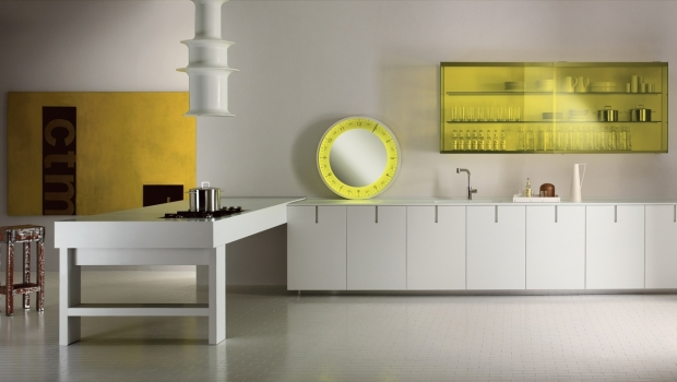 At Christmas, the new kitchen design