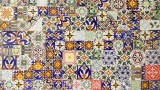 Decorated tiles