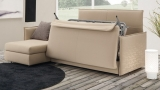 Armchairs and sofas convertible into beds