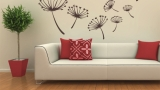 Wall stickers to decorate the house