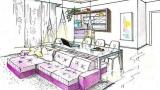 Living room island