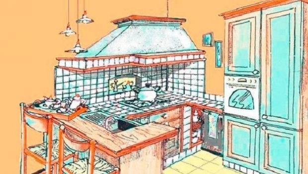 Kitchen for holiday house