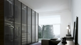 Closets with glass doors