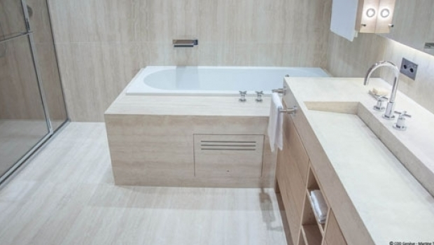 Marble tiles - Pleasant bathroom designs small bathroom radical change simple remodeling ...