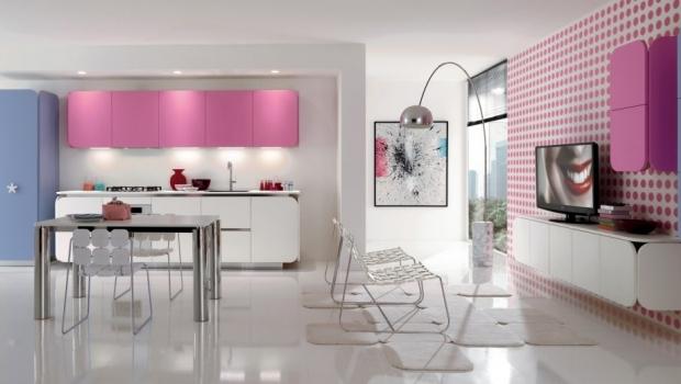 Fluorescent colors kitchens