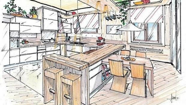 Wood in the kitchen