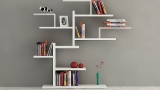 Design wall bookshelves