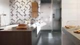 Geometry coatings for the bathroom