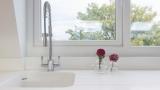 Sink under the window: design ideas