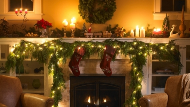 Christmas lights, decorate home