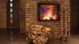 Rustic firewood holder