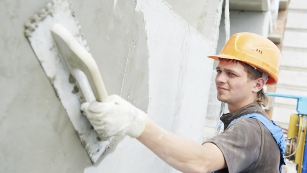 Insulating plaster