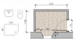 Small bathroom, design