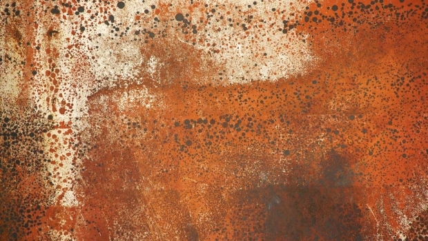 Coatings with corten effect