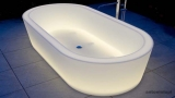 Bright bathtubs
