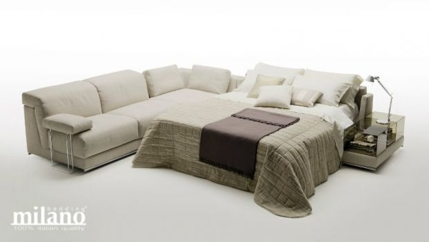Angular sofa beds