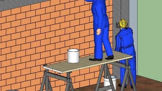 Consolidation of the masonry infill wall