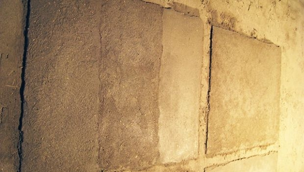 Clay plaster in self costruction
