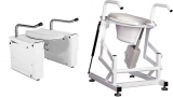 Toilet lifters Ambrose and Lazarus for elderly and disabled people by Bodylift