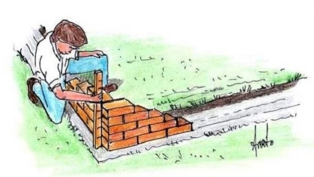 One head angular wall: DIY building mode