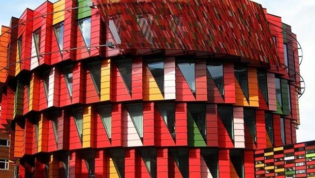 The ventilated brickwork facade