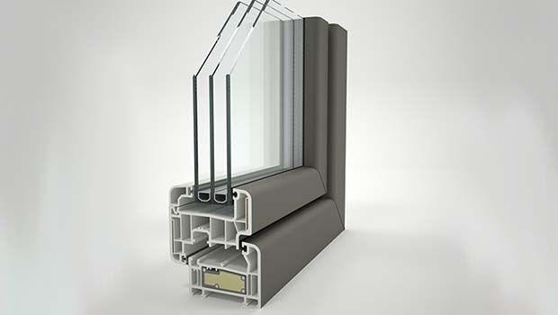 Door in glass fiber