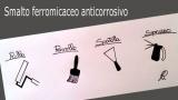 Noncorrosive micaceous enamel