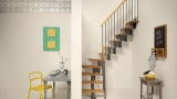 Mini stairs for small spaces
