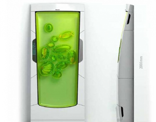 The refrigerator without power named bio robot refrigerator