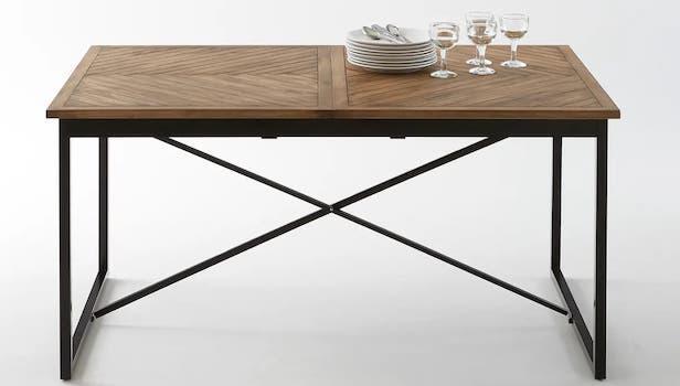 Nottingham extendable kitchen table - Photo: La Redoute Interieurs
