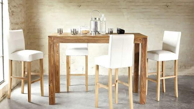 Stockholm design extendable table - Photo: Maisons du Monde