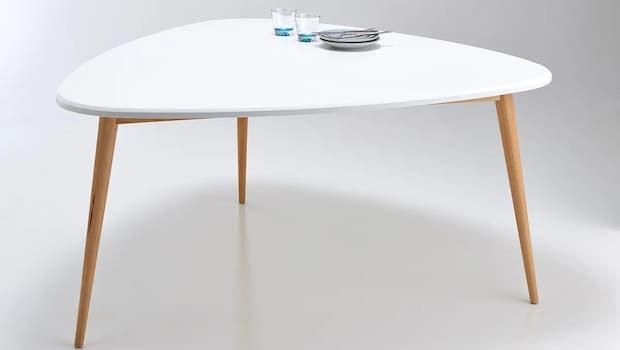 Modern kitchen tables: fixed model Jimi - Photo: La Redoute Interieurs