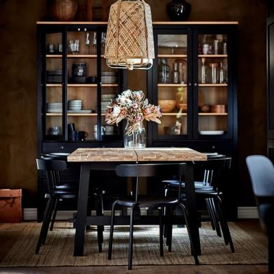 Fixed-dining-table-skogsta-photo-ikea