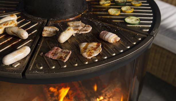 Caminetti e barbecue per esterni: modello Surprise - Foto: Rüegg