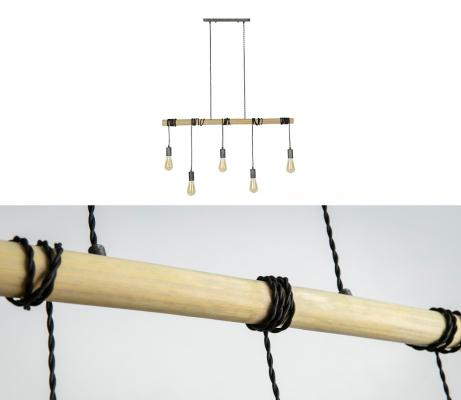 Industrial-bamboo-chandelier-light-by-miliboo