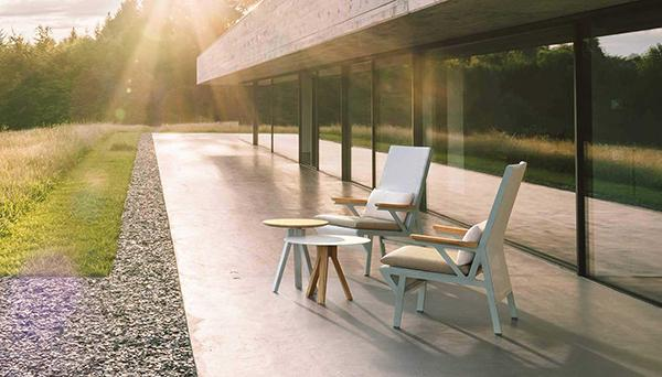 Vieques outdoor armchairs by Kettal
