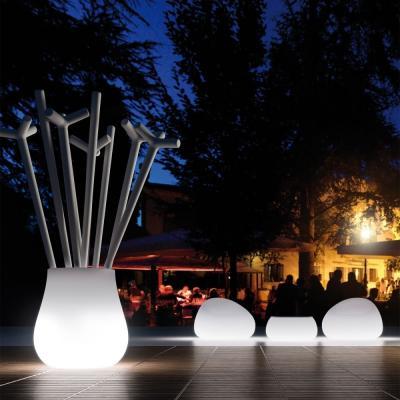 Luminous-armchair-gunball-luminous-vase-leaf-by-sediarreda