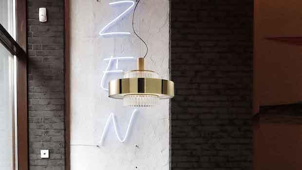 Complementi per interni in stile contemporaneo: lampada Crono - Foto: Italamp