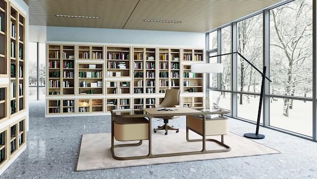 Casa classica contemporanea: scrivania Isabel - Foto: Morelato
