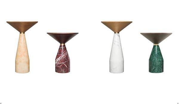 Arredo contemporaneo: tavolini Cino - Foto: Morelato