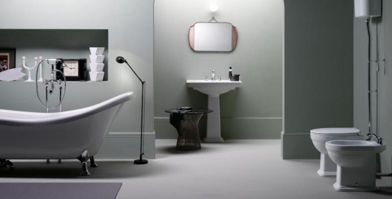 Modern-bathroom-with-retro-sanitary-ware-by-gsi-ceramica