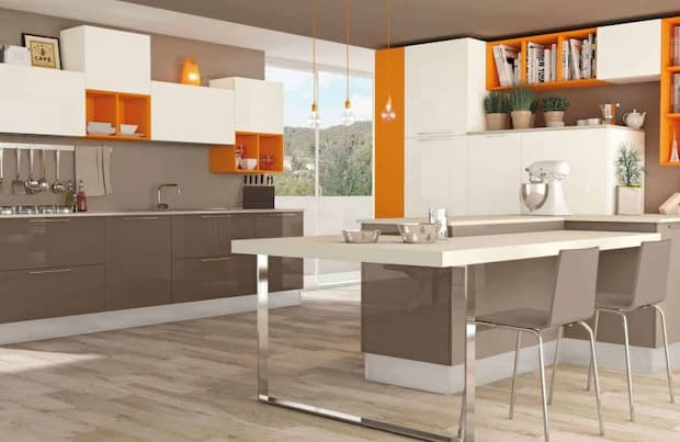 Orange objects in the kitchen, Lube solutions