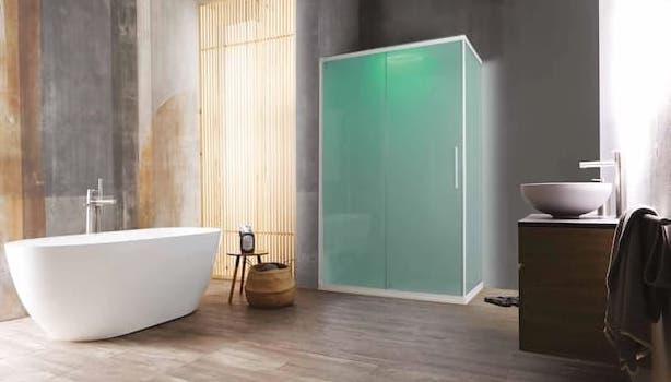 K1000 closed shower enclosure - Photo: Kinedo